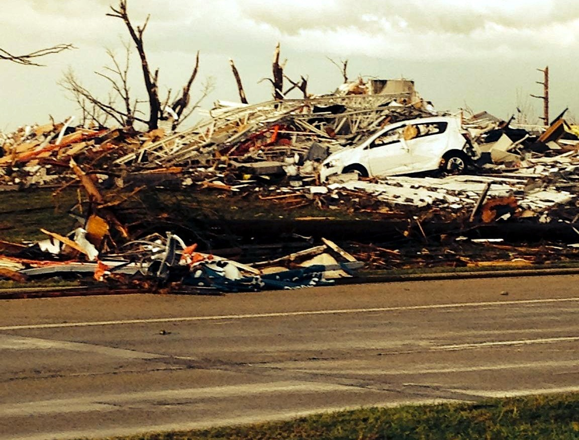Woodview Shelters Tornado Victims
