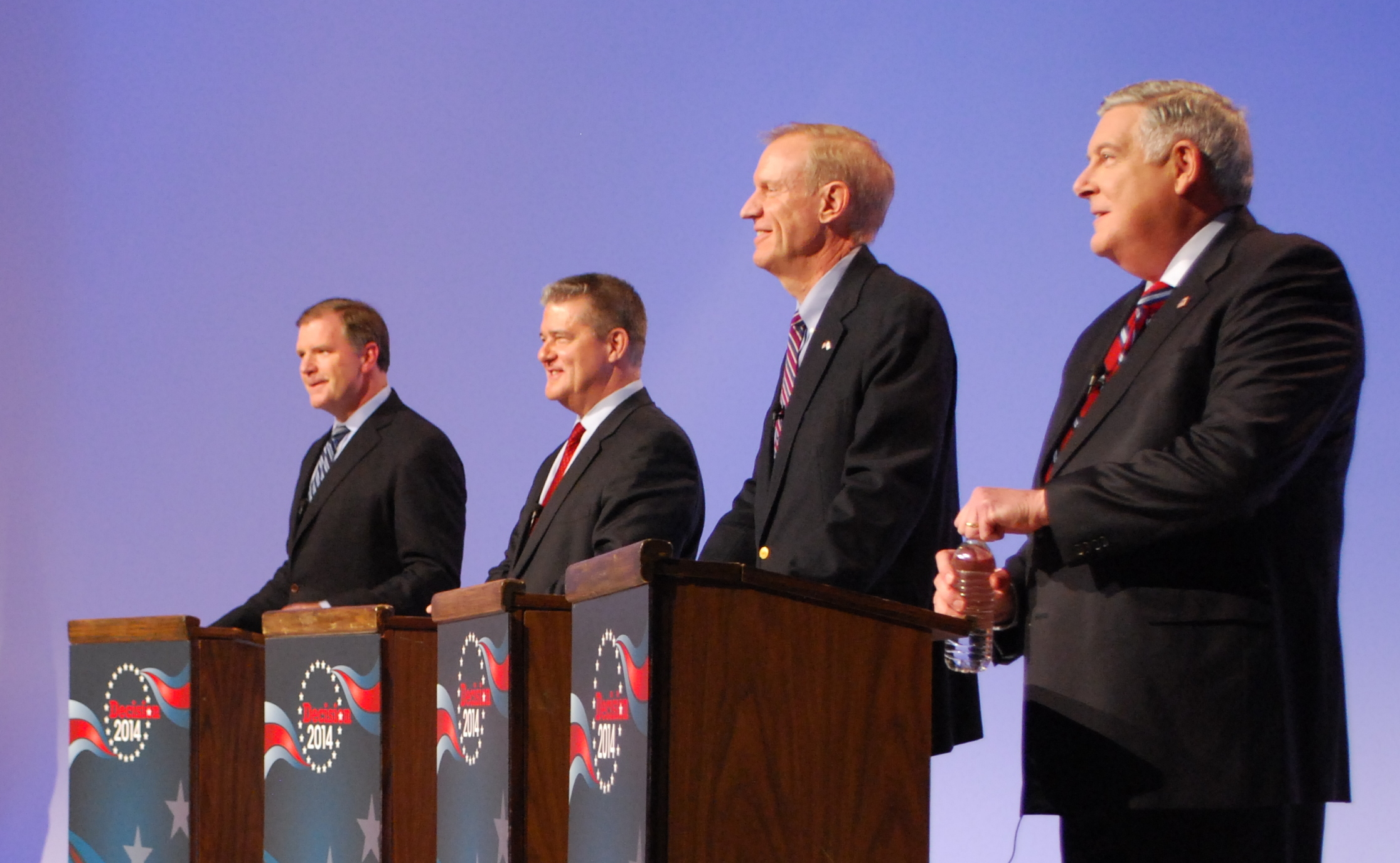 Local Debate Touches on Education