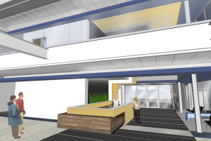 An option for remodel of Arbor Hall. REID HARMAN | THE HARBINGER