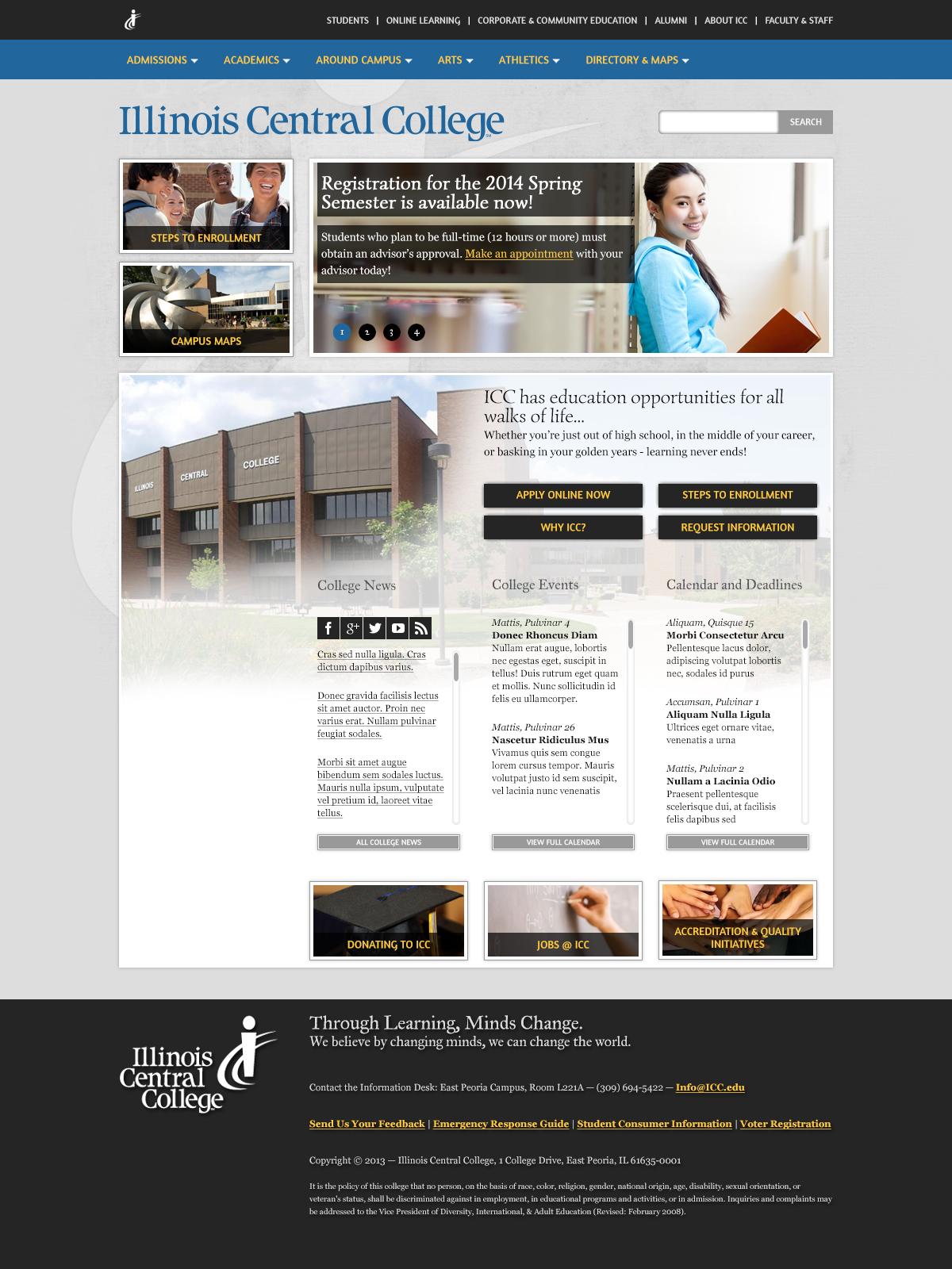 Introducing icc.edu 2.0