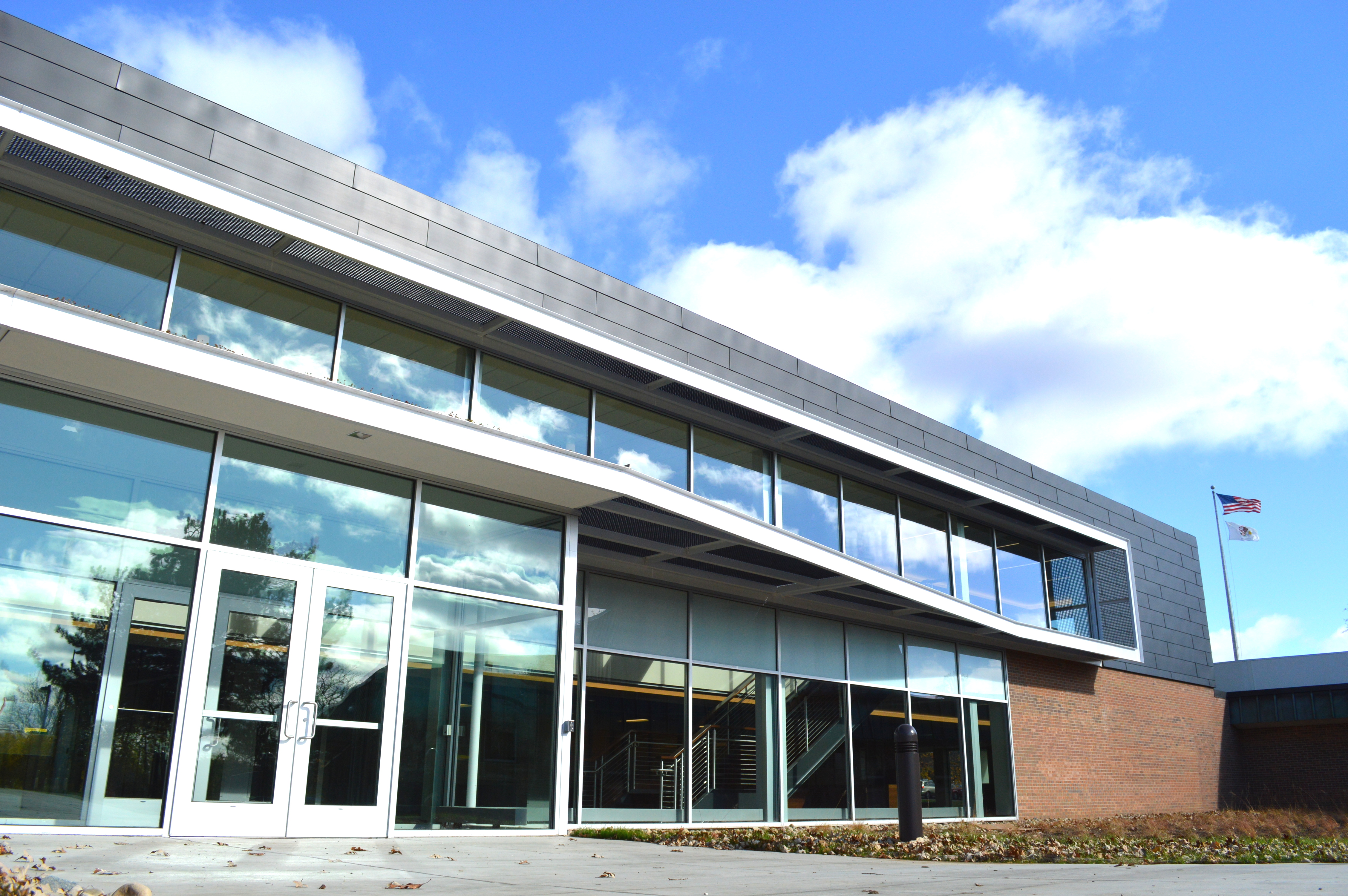 A glance at the new Arbor Hall