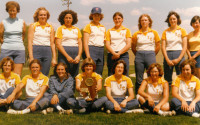 ICC softball won first place in regionals in 1980. They went on to win third in the nation that year. Photo courtesy TONYA GILLES-KOCH