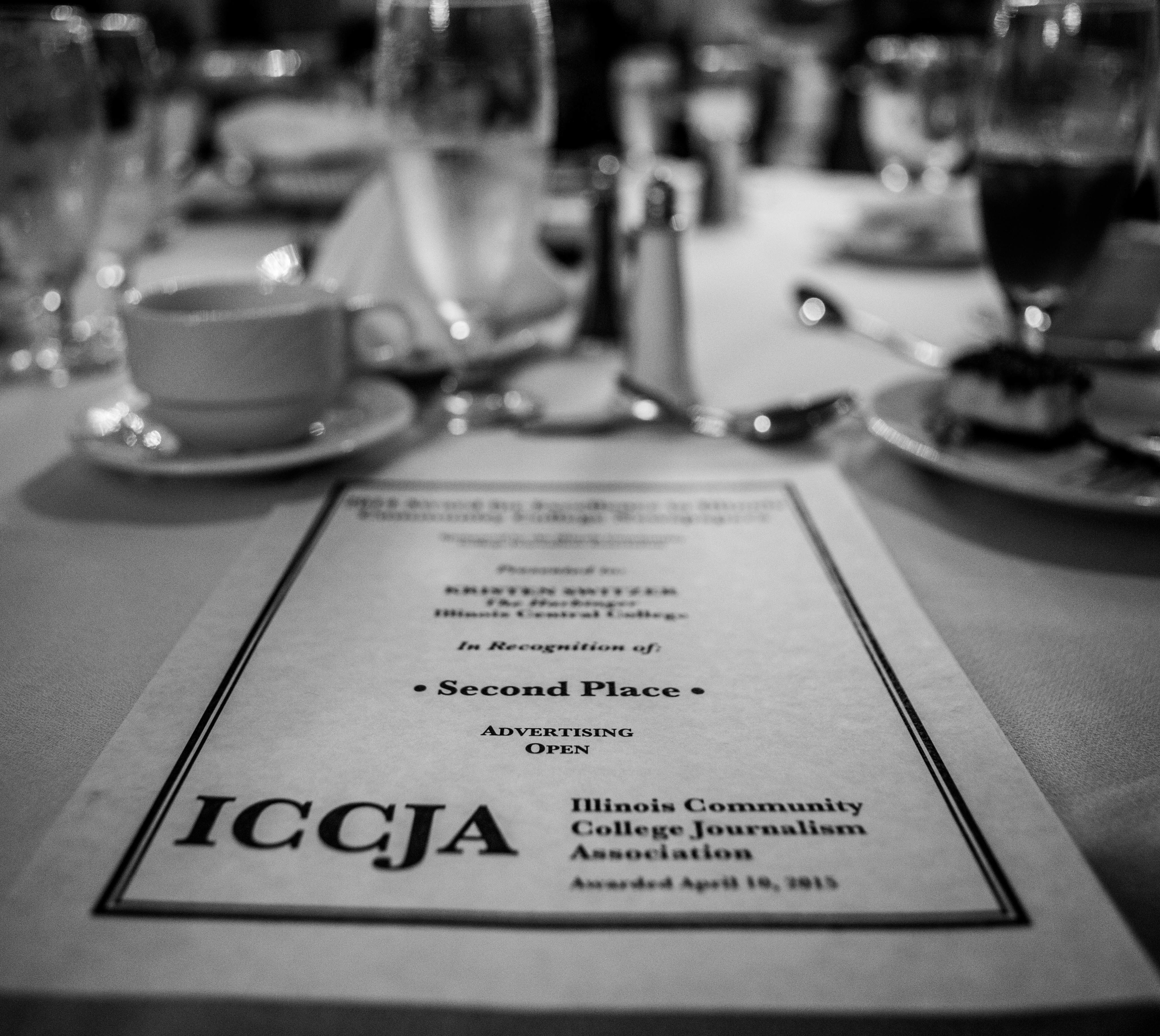 Harbinger recognized at ICCJA conference