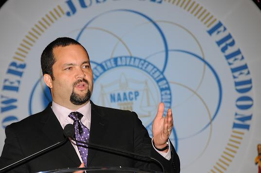 Civil Rights Activist Benjamin T. Jealous in a photo from the NAACP