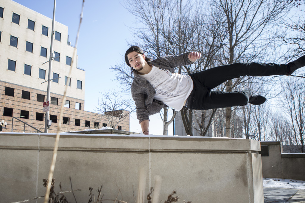 Thinking Over the Box: A Lesson in Parkour | The Harbinger